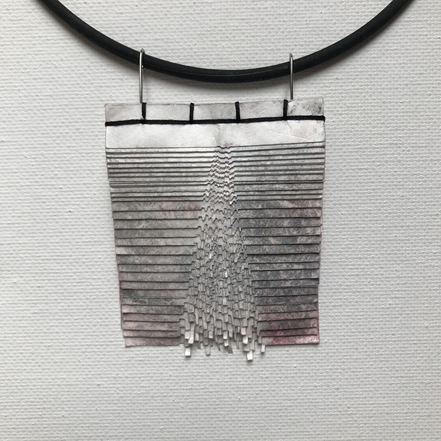 Tyvek Stainless Necklace 2