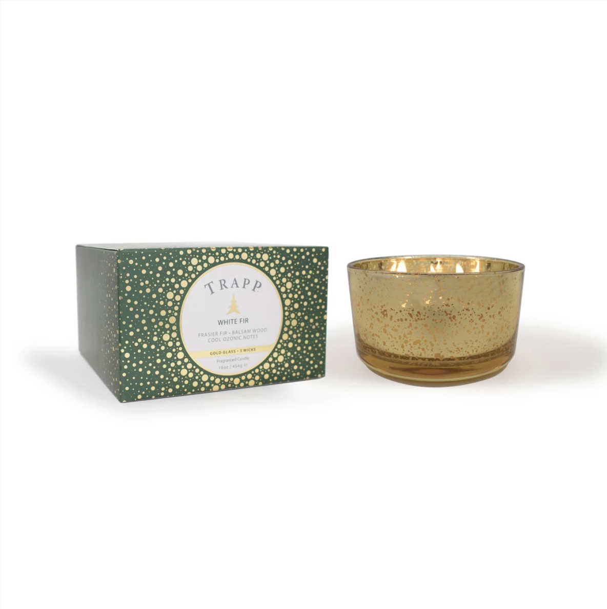 Trapp Candle No. 56 White Fir 3-Wick