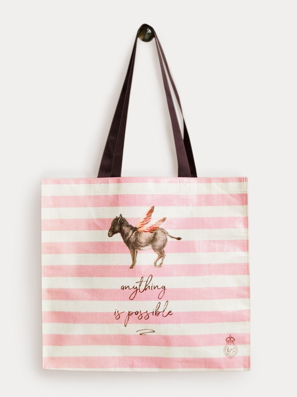 Donkey Anything is Possible Market Tote