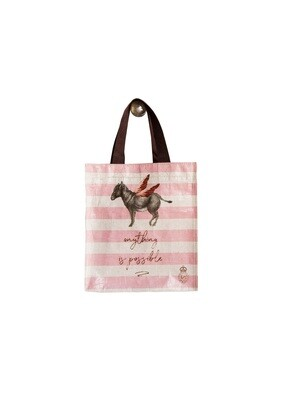 Donkey Anything is Possible Small Tote