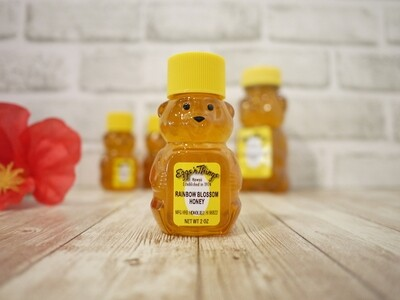 Hawaii honey in bear bottle (Rainbow Blossom / 2oz)