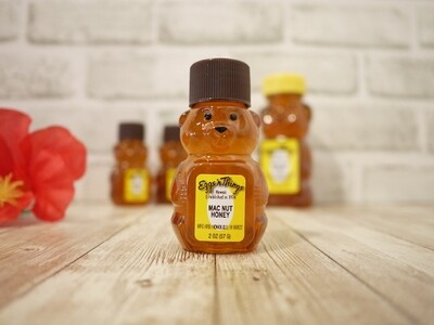 Hawaii honey in bear bottle (Mac nut / 2oz)