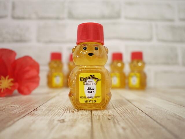Hawaii Honey in bear bottle(Lehua / 2oz)