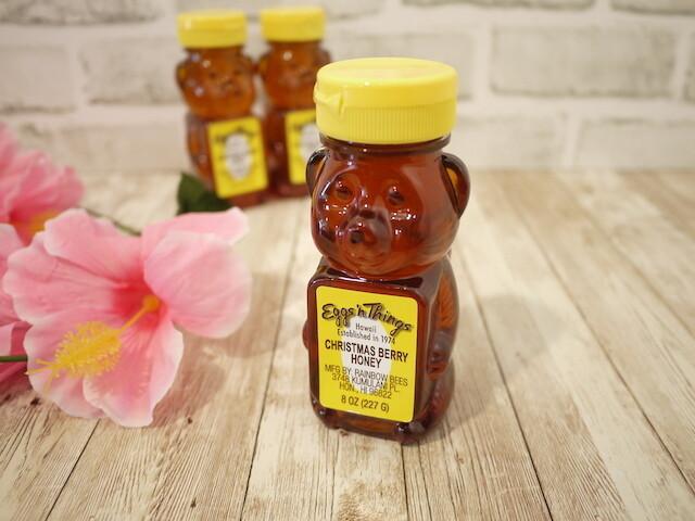 Hawaii honey in bear bottle (Christmas Berry / 8oz)