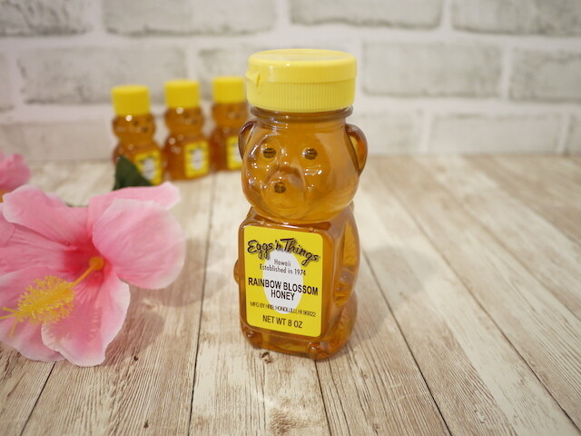Hawaii honey in bear bottle (Rainbow Blossom / 8oz)
