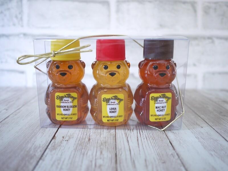I love Hawaiian honey set
