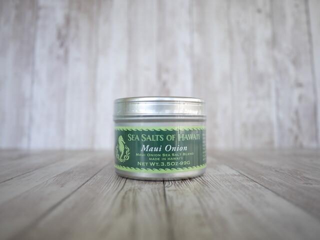 Hawaiian Maui Onion Sea Salt [3.5oz]