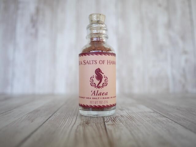 Hawaiian Alaea Red Sea Salt [1oz]