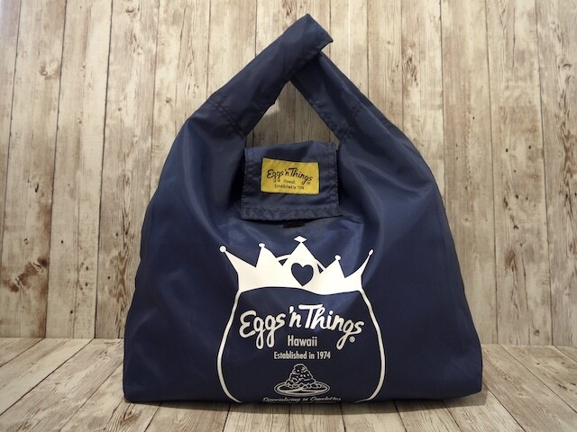 Nylon Foldable Bag[Navy]