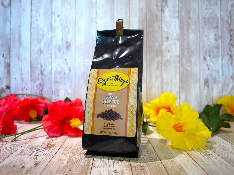 100% Kona Coffee [Ground/7oz]