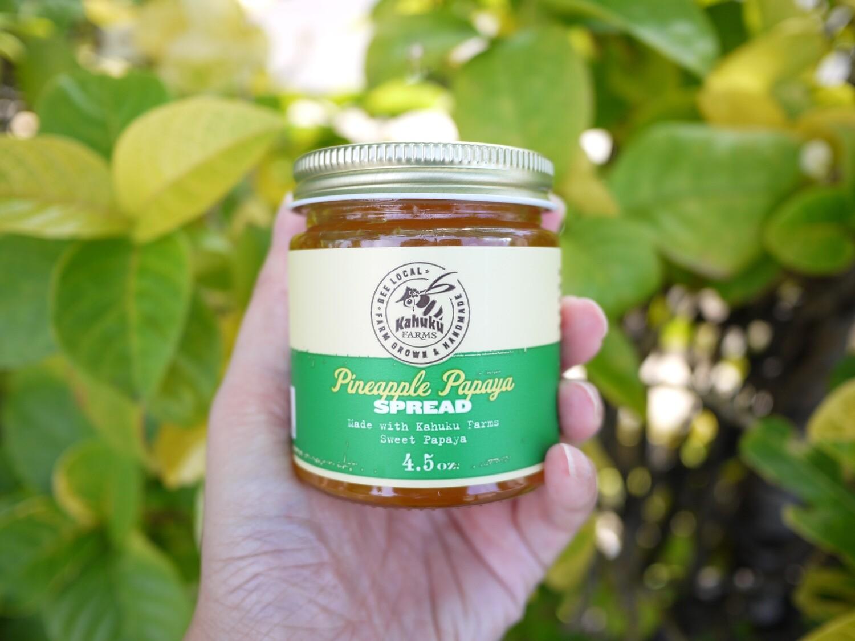 [Hawaii exclusive] Pineapple Papaya spread
