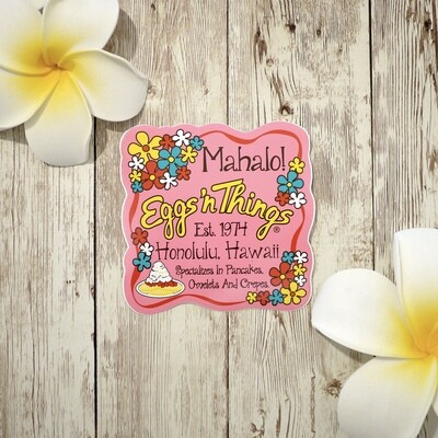 Sticker[Mahalo Pink]
