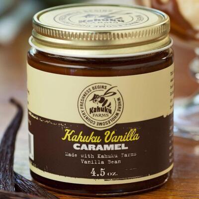 [Hawaii Exclusive] Vanilla Caramel Sauce - Kahuku Farms