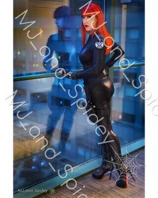 Marvel - Avengers - Black Widow No. 2 - Digital Cosplay Image (@MJ_and_Spidey, MJ and Spidey, Comics)