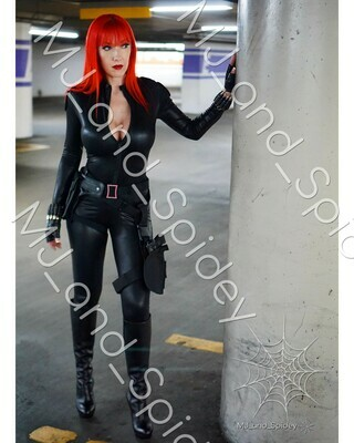 Marvel - Avengers - Black Widow No. 6 - Digital Cosplay Image (@MJ_and_Spidey, MJ and Spidey, Comics)