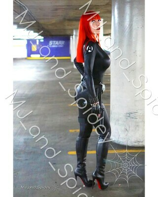 Marvel - Avengers - Black Widow No. 4 - Digital Cosplay Image (@MJ_and_Spidey, MJ and Spidey, Comics)