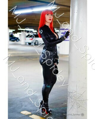 Marvel - Avengers - Black Widow No. 5 - Digital Cosplay Image (@MJ_and_Spidey, MJ and Spidey, Comics)