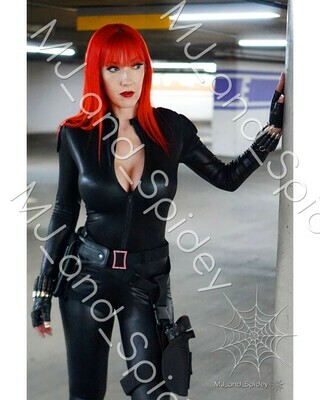 Marvel - Avengers - Black Widow No. 7 - Digital Cosplay Image (@MJ_and_Spidey, MJ and Spidey, Comics)