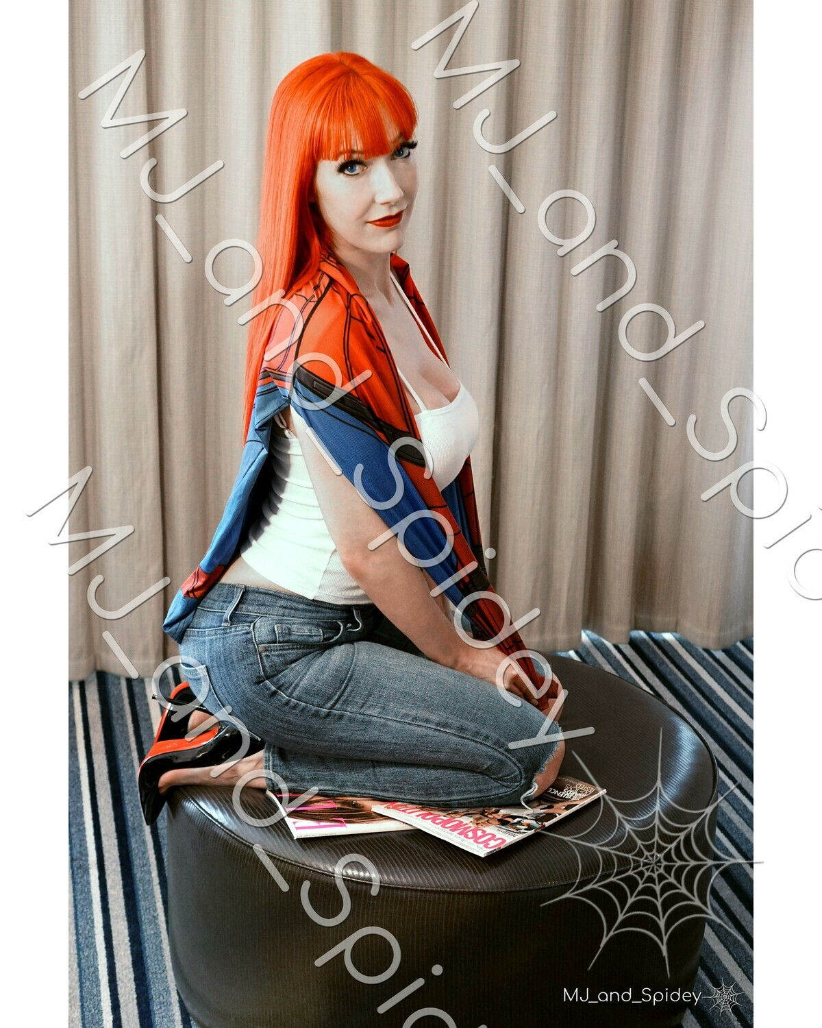 Marvel - Spider-Man - Mary Jane Watson - Campbell No. 3 - 8x10 Cosplay Print (@MJ_and_Spidey, MJ and Spidey, Comics)