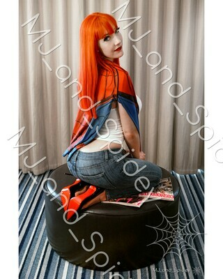 Marvel - Spider-Man - Mary Jane Watson - Campbell No. 4 - Digital Cosplay Image (@MJ_and_Spidey, MJ and Spidey, Comics)
