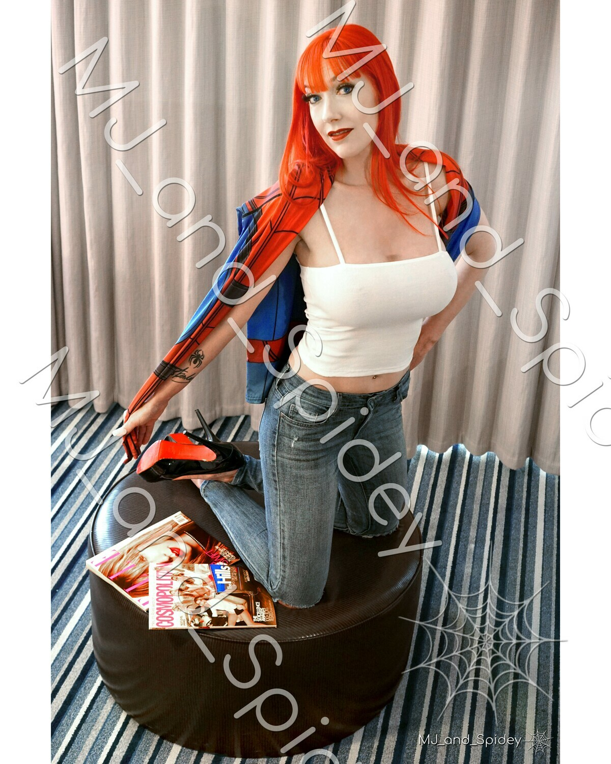 Marvel - Spider-Man - Mary Jane Watson - Campbell No. 7 - Digital Cosplay Image (@MJ_and_Spidey, MJ and Spidey, Comics)