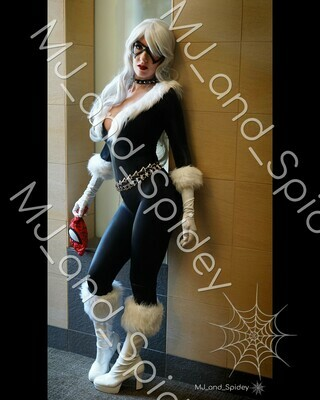 Marvel - Spider-Man - Black Cat - Classic No. 1 - Digital Cosplay Image (@MJ_and_Spidey, MJ and Spidey, Comics)