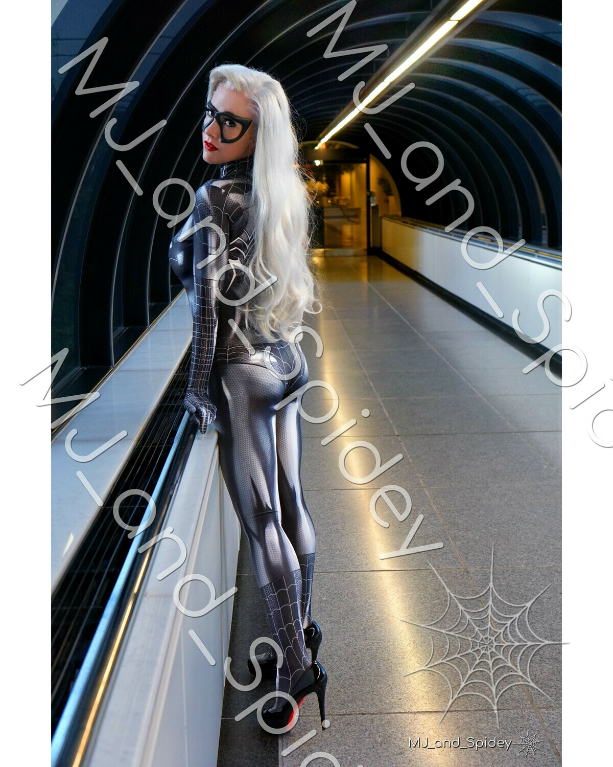 Marvel - Spider-Man - Black Cat - Symbiote No. 3 - 8x10 Cosplay Print (@MJ_and_Spidey, MJ and Spidey, Comics)