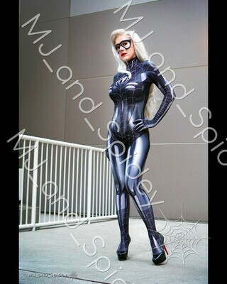 Marvel - Spider-Man - Black Cat - Symbiote No. 2 - 8x10 Cosplay Print (@MJ_and_Spidey, MJ and Spidey, Comics)