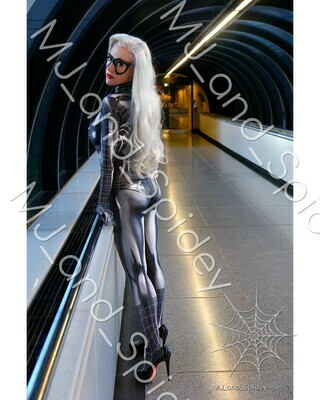 Marvel - Spider-Man - Black Cat - Symbiote No. 3 - Digital Cosplay Image (@MJ_and_Spidey, MJ and Spidey, Comics)