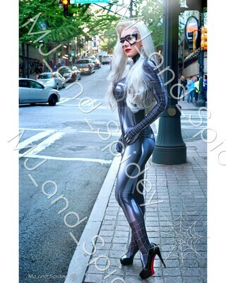 Marvel - Spider-Man - Black Cat - Symbiote No. 1 - Digital Cosplay Image (@MJ_and_Spidey, MJ and Spidey, Comics)
