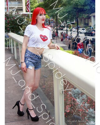 Marvel - Spider-Man - Mary Jane Watson - Classic No. 6 - 8x10 Cosplay Print (@MJ_and_Spidey, MJ and Spidey, Comics)