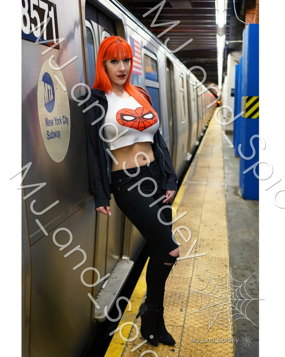 Marvel - Spider-Man - Mary Jane Watson - Classic No. 8 - 8x10 Cosplay Print (@MJ_and_Spidey, MJ and Spidey, Comics)