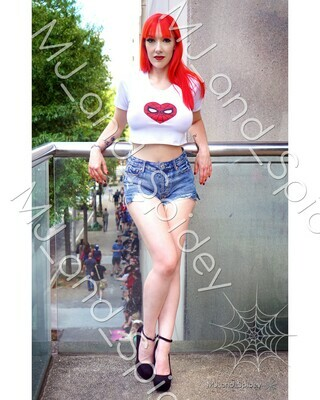 Marvel - Spider-Man - Mary Jane Watson - Classic No. 5 - 8x10 Cosplay Print (@MJ_and_Spidey, MJ and Spidey, Comics)