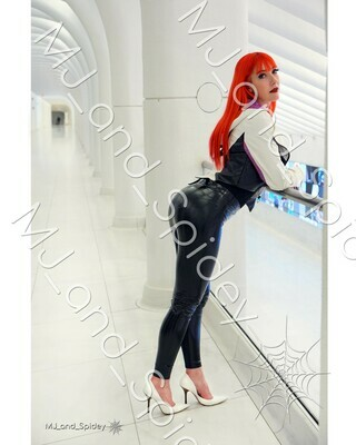 Marvel - Spider-Man - Mary Jane Watson - Classic No. 9 - 8x10 Cosplay Print (@MJ_and_Spidey, MJ and Spidey, Comics)