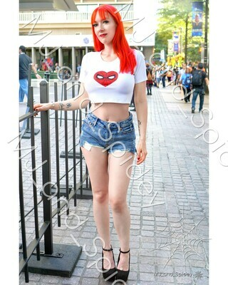 Marvel - Spider-Man - Mary Jane Watson - Classic No. 4 - 8x10 Cosplay Print (@MJ_and_Spidey, MJ and Spidey, Comics)
