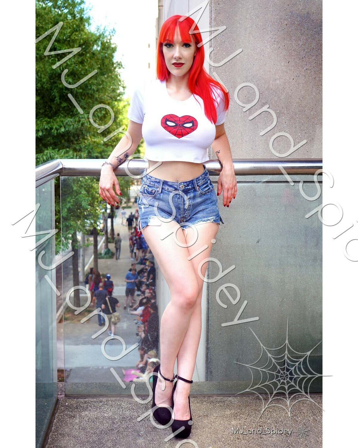 Marvel - Spider-Man - Mary Jane Watson - Classic No. 5 - Digital Cosplay Image (@MJ_and_Spidey, MJ and Spidey, Comics)