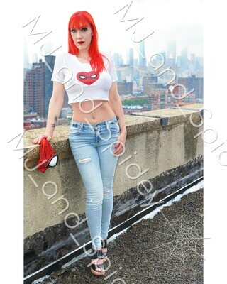Marvel - Spider-Man - Mary Jane Watson - Classic No. 2 - Digital Cosplay Image (@MJ_and_Spidey, MJ and Spidey, Comics)