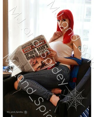 Marvel - Spider-Man - Mary Jane Watson - Classic No. 7 - Digital Cosplay Image (@MJ_and_Spidey, MJ and Spidey, Comics)