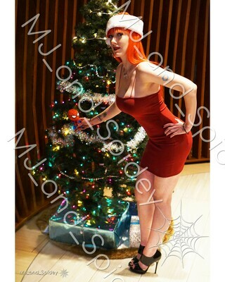 Marvel - Spider-Man - Mary Jane Watson - Christmas No. 2 - Digital Cosplay Image (@MJ_and_Spidey, MJ and Spidey, Comics)