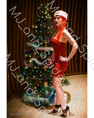 Marvel - Spider-Man - Mary Jane Watson - Christmas No. 1 - 8x10 Cosplay Print (@MJ_and_Spidey, MJ and Spidey, Comics)