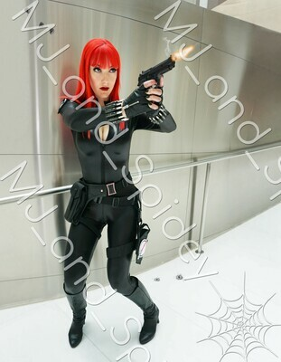 Marvel - Avengers - Black Widow No. 8 - 8.5x11 Cosplay Print (@MJ_and_Spidey, MJ and Spidey, Comics)
