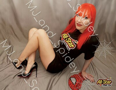 Spider-Man - Mary Jane Watson - All Star No. 1 - 8.5x11 Cosplay Print (@MJ_and_Spidey, MJ and Spidey, Comics)