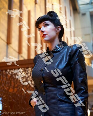 Blade Runner - Rachael - No. 11 - Digital Cosplay Image (@MJ_and_Spidey, Sci Fi, Science Fiction, Cyberpunk)