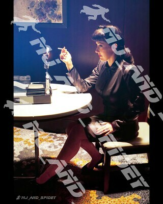 Blade Runner - Rachael Voight-Kampff Test - No. 9 - Digital Cosplay Image (@MJ_and_Spidey, Sci Fi, Science Fiction, Cyberpunk)
