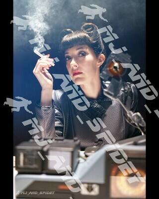 Blade Runner - Rachael Voight-Kampff Test - No. 10 - Digital Cosplay Image (@MJ_and_Spidey, Sci Fi, Science Fiction, Cyberpunk)