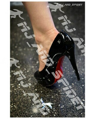 Blade Runner - Rachael Shoe and Unicorn - No. 6 - 8x10 Cosplay Print (@MJ_and_Spidey, Sci Fi, Science Fiction, Cyberpunk)