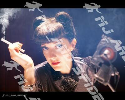 Blade Runner - Rachael Voight-Kampff Test - No. 7 - Digital Cosplay Image (@MJ_and_Spidey, Sci Fi, Science Fiction, Cyberpunk)