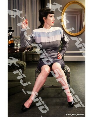 Blade Runner - Rachael - No. 5 - 8x10 Cosplay Print (@MJ_and_Spidey, Sci Fi, Science Fiction, Cyberpunk)