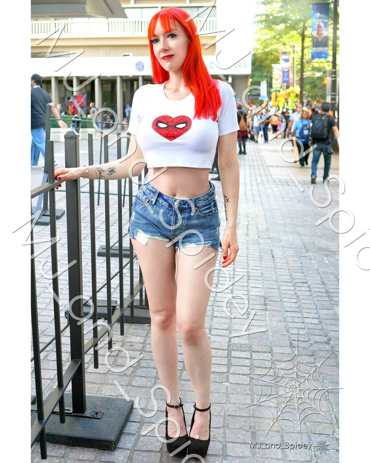 Marvel - Spider-Man - Mary Jane Watson - Classic No. 4 - Digital Cosplay Image (@MJ_and_Spidey, MJ and Spidey, Comics)