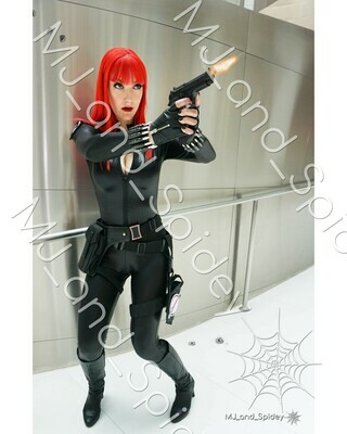 Marvel - Avengers - Black Widow No. 8A - Virgin Variant - Digital Cosplay Image (@MJ_and_Spidey, MJ and Spidey, Comics)